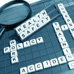 Health and Safety lettering